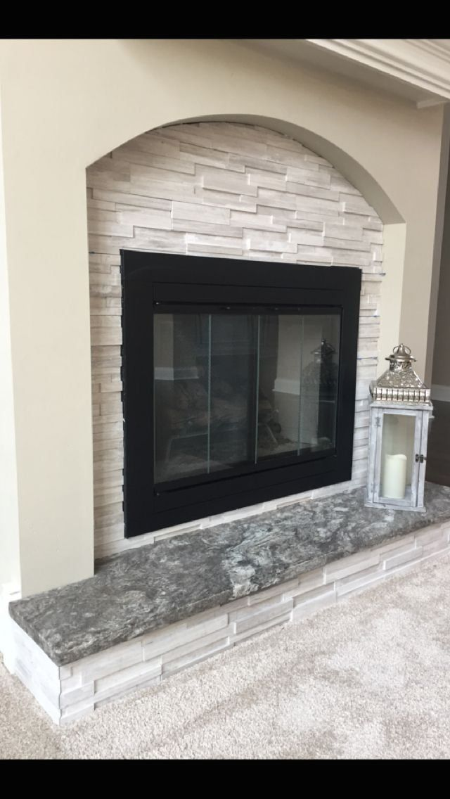 Pin On Brick Fireplace Makeover