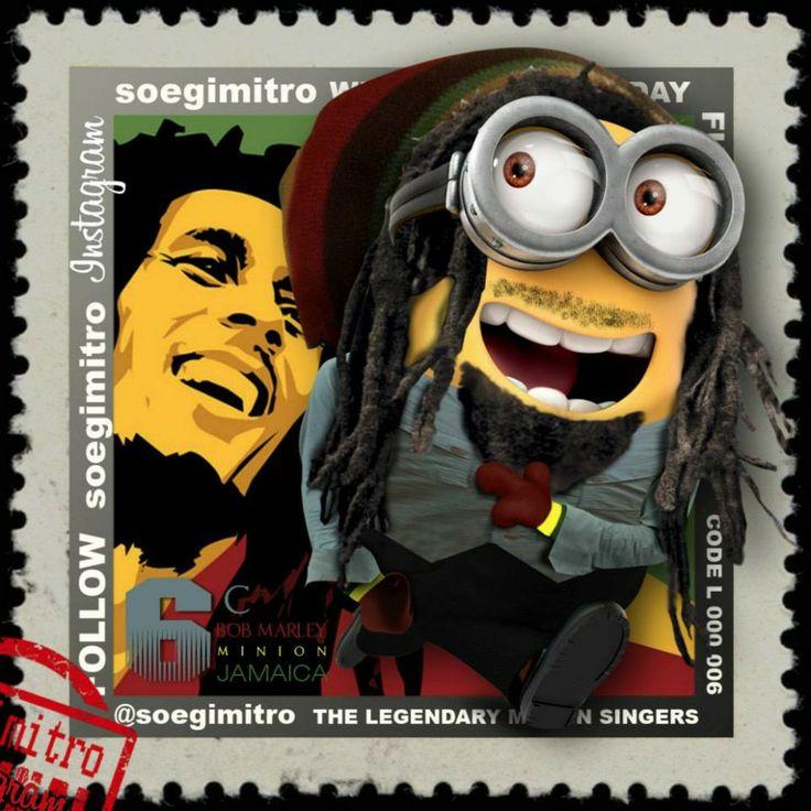 Bob Marley Minion.