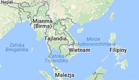 Mapa: Wietnam