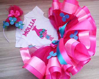 #poppy #dress #birthday #party #tutu #toddlerlife #sets #baby #girl #trolls #trollsparty #trollsbirthday #pink #poppy