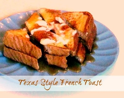 Cooking with K: Texas Style French Toast {You Can Serve A Crowd}