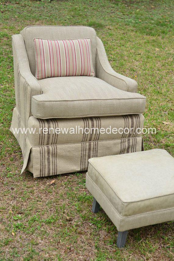 Vintage MidCentury Swivel Club Chair   Jon's by ReNewalHomeDecor, $1399.00