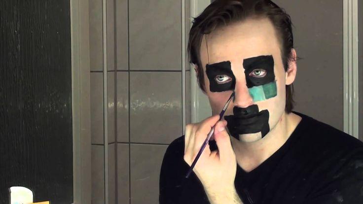 Halloween / Faschings Makeup: Creeper aus Minecraft
