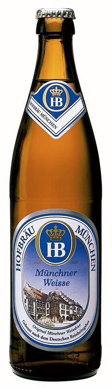 Hofbrau Münchner Weisse Hefe - Autres bières allemandes - Bières allemandes - Bières et Cidres - Alloboissons