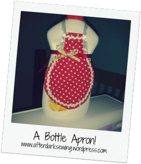 An apron for your washing up liquid!!