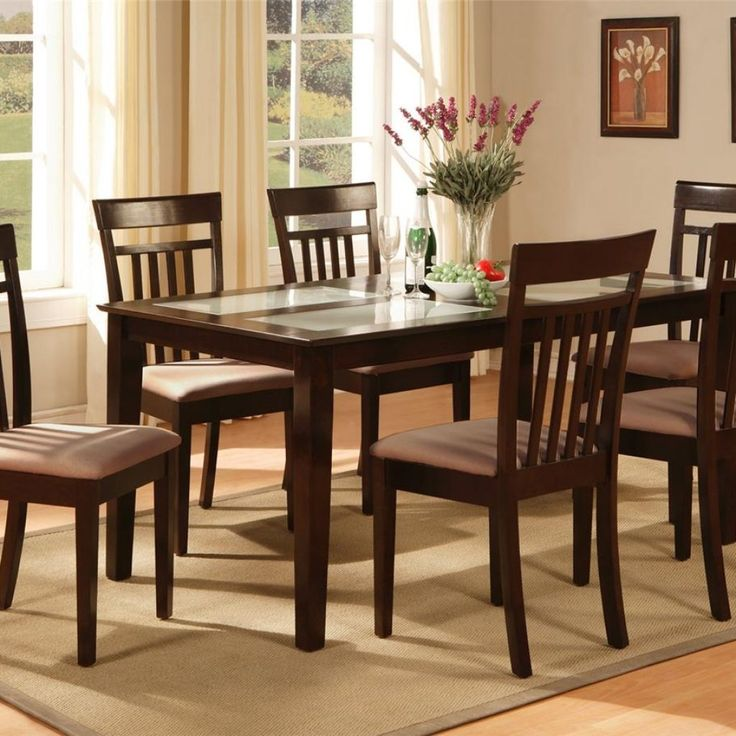 Kitchen Table Set 6 Chairs