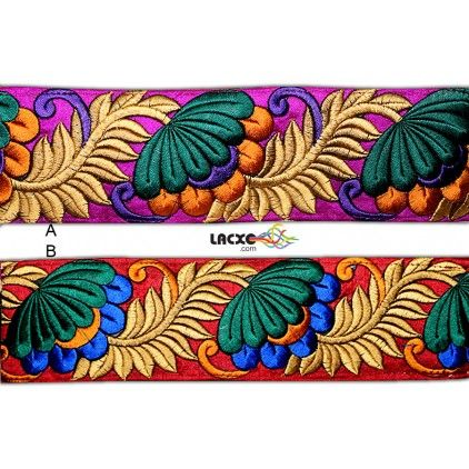 Embroidery Lace - 006849-AB Rs1,080.00 / 9 Meter Roll