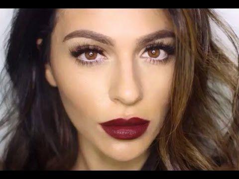 Rossetto rosso scuro tendenza autunno 2015 - VideoTrucco