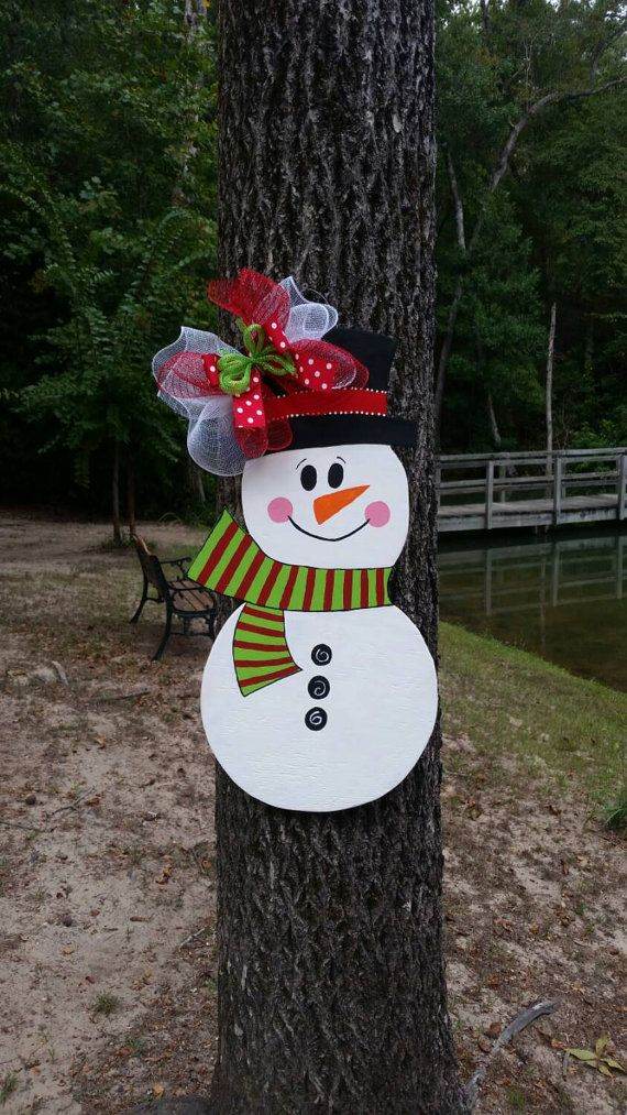 Hey, I found this really awesome Etsy listing at https://www.etsy.com/listing/205182609/snowman-door-hanger