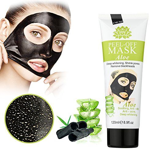 MEINAIER Blackhead Remover MaskPeel Off Black MaskClear Pores &Acne Activated Charcoal Cleansing Removal Strip Mask
