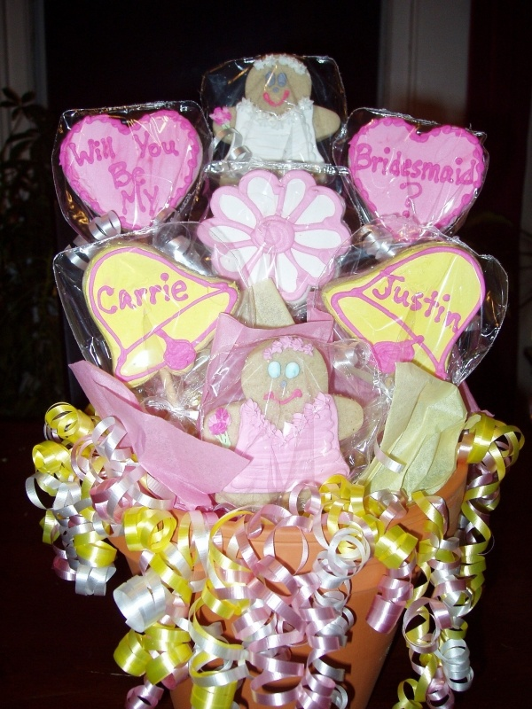 167 Best Cookie Bouquets Images On Pinterest