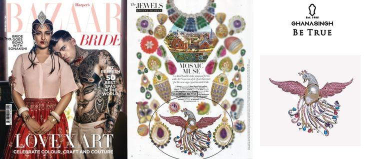"""#GBTBeTrue  Presents """"BIRD OF PARADISE"""" Collection Got Featured in #BazaarBrideIn"""
