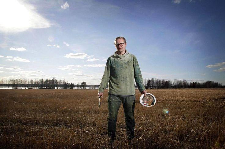 Petri Ala-Maunus vaihtoi nuorena painin taiteeseen – nyt hän on ensimmäinen elossa oleva taiteilija, jonka teos pääsee Ateneumin klassikkojen saliin - Kulttuuri - HS.fi