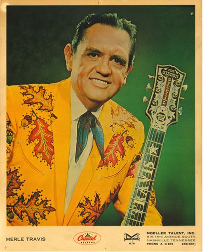 """""""Merle Travis was a fine picker, and I made him a sharp dresser."""" —Nudie the Rodeo Tailor"""