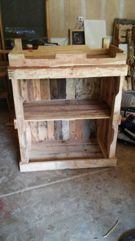Baby changing table pallets  HappyDadDesigns Pallet CREATIONS  Baby changing tables Baby