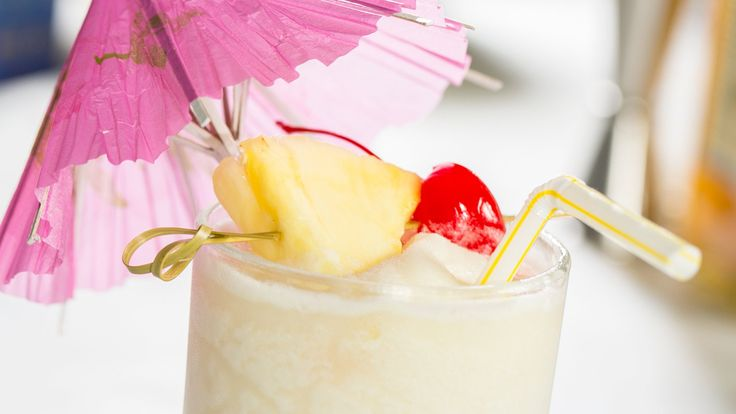 An irresistible tiki classic, and an occasion to pull out the paper umbrellas Just beware of brain freeze.