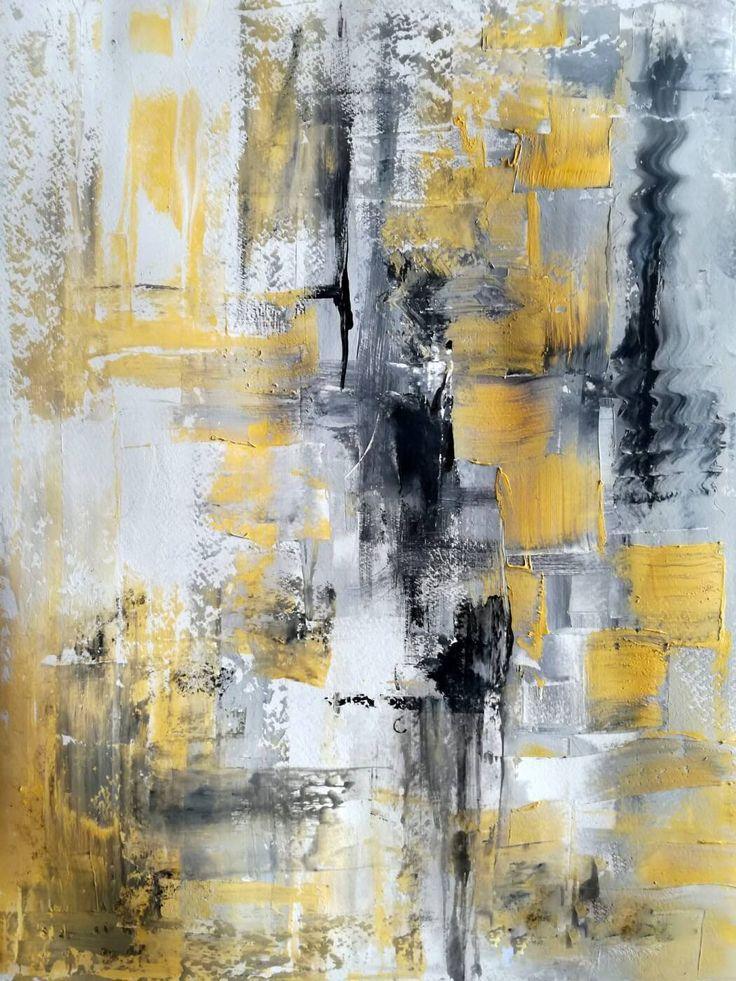 Серо белая абстракция картина фото