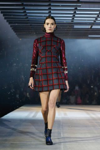 Trending from Pre-Fall 2015: Graphic Grids