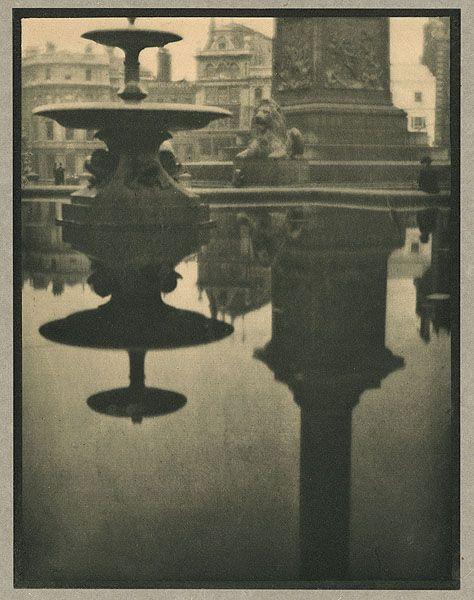 Trafalgar Square,1910 photogravure by Alvin Langdon Coburn