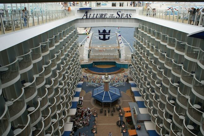 The world's biggest ship, Allure of the Seas