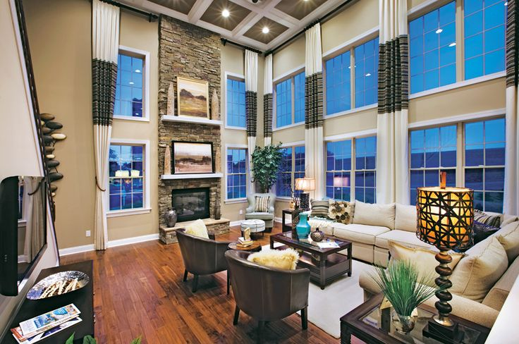 Toll brothers at monmouth chase nj family rooms - Luxury home decor ideas ...