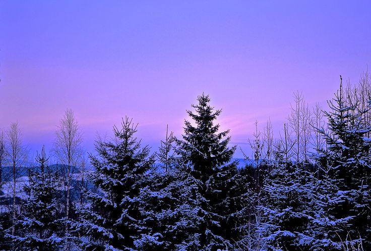 Color  -  Fine farger på himmelen .