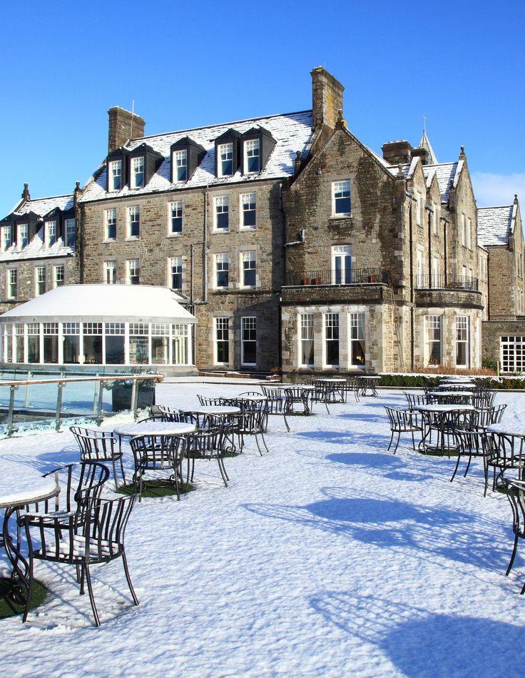 A snowy Parknasilla Resort