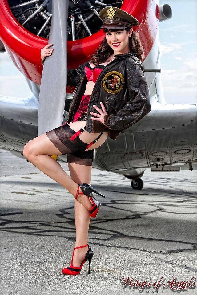 Wings of Angels | Michael Malak photography #pinupartsource #pinup