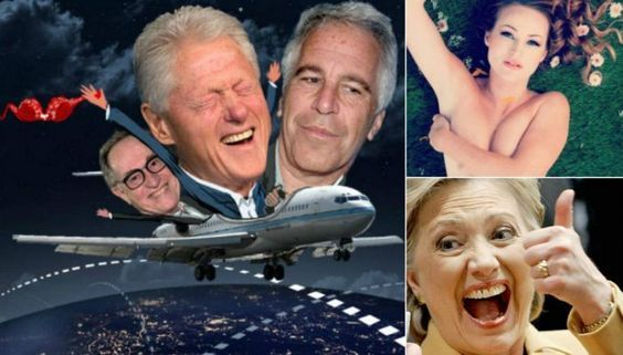 BUSTED! New Flight Logs Show It was Actually 28 Trips Bill Clinton took not 17 wasn't it? With Pedophile JeffreyEpstein - To pedophile slaves island, all females (of course) being harmed. Think Clinton never had sex with any of those minors? Common sense here folks... Duh of course he did birds of a feather flock together... Pedophiles are sick and lie constantly.