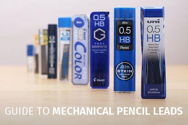 Mechanical Pencil Lead Comparison