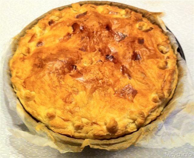 Torta rustica patate e speck