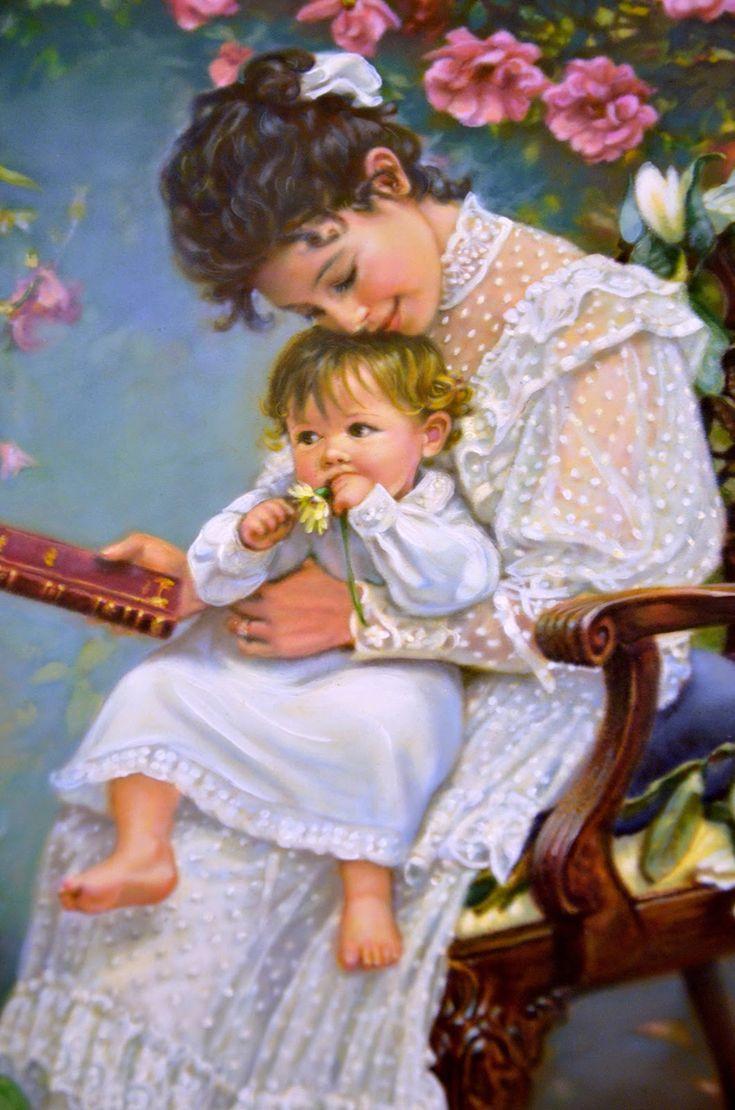 Гифки открытка день матери, рядом тобой