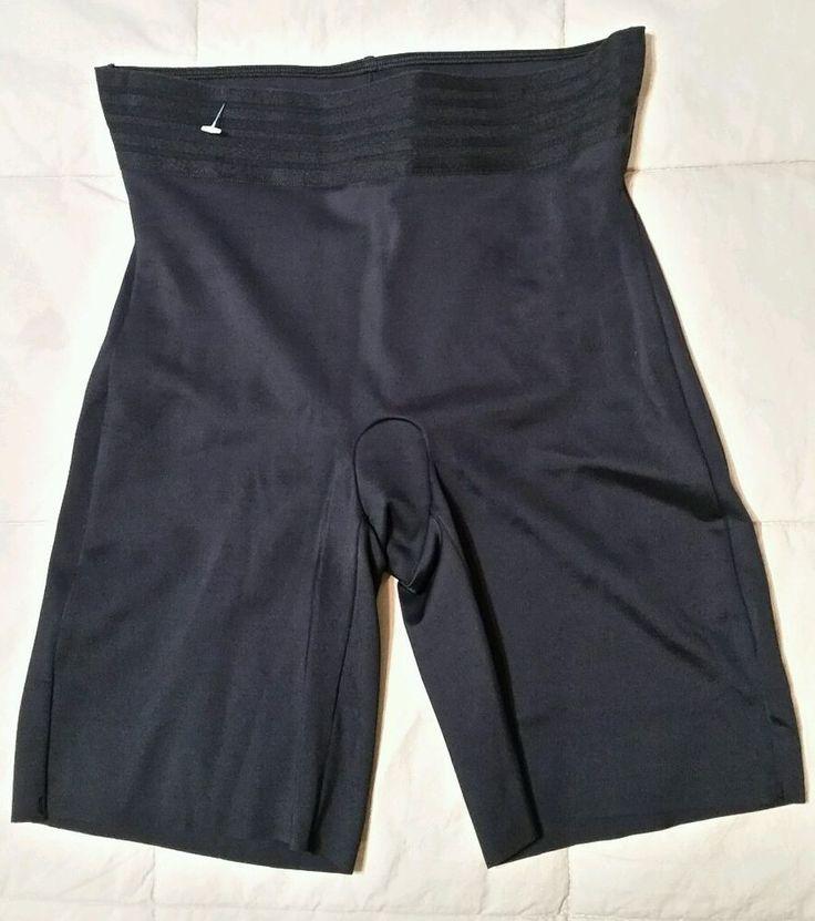 NWOT Love Your Assets Spanx Sara Blakely MEDIUM Black Shaping Shorts #SPANX #ShapewearShorts
