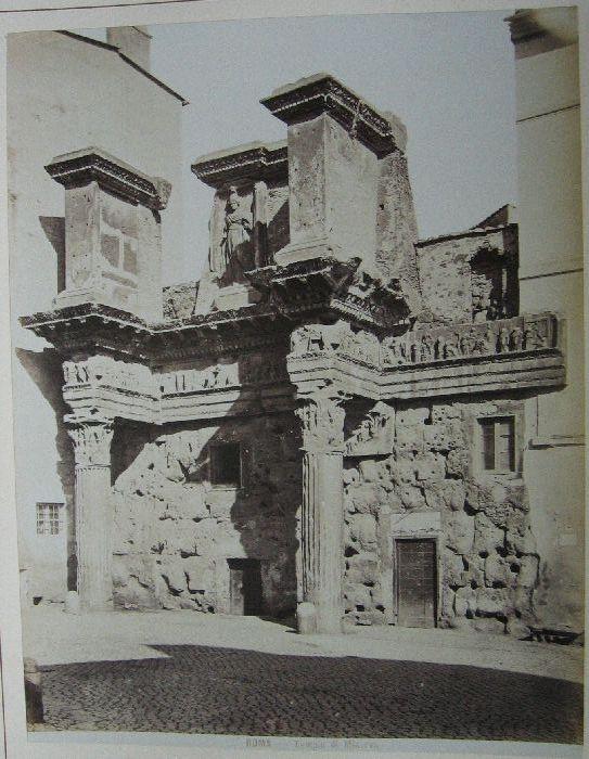Tempio di Minerva 1880