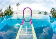 Conrad Koh Samui Resort and Spa, Thailand Hotel - Wedding Arch over pool