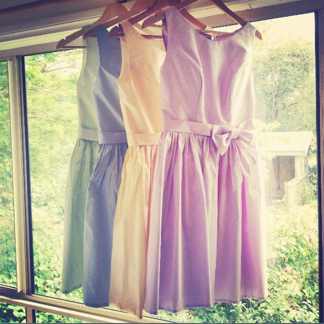 Bridesmaid dress Pastel Wedding Caleche Credit to Kyle for this photo