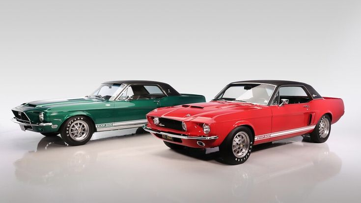 Little Red 1967 Mustang