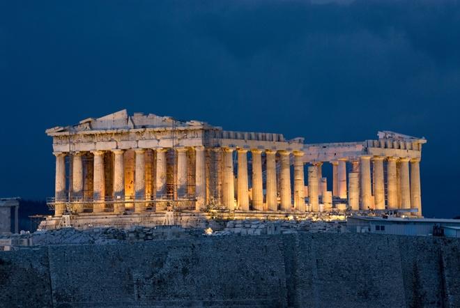Parthenon at night on Acropolis Athens Greece: Bucketlist, Favorit Place, Parthenon, Buckets Lists, Athens Greece, Acropoli, Palaces, Travel, Ancient Greece