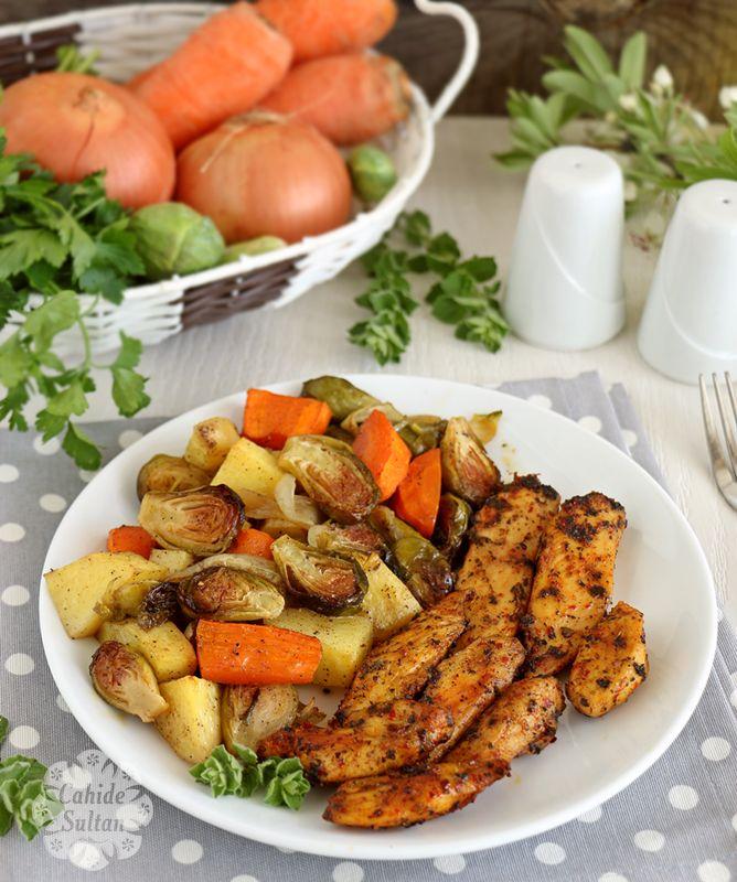 Brüksel lahanalı fırın yemeği
