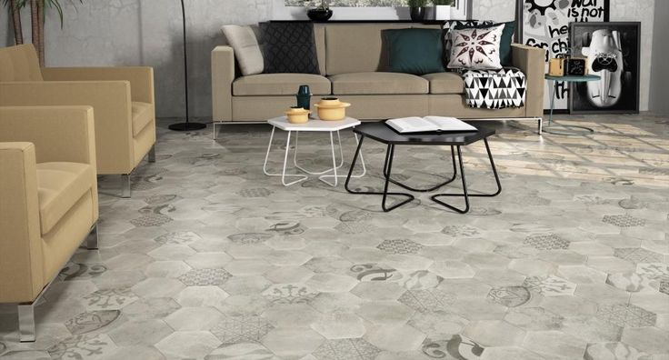 DOMME MONTRESOR MIX HEXAGON 20X20 - SQM