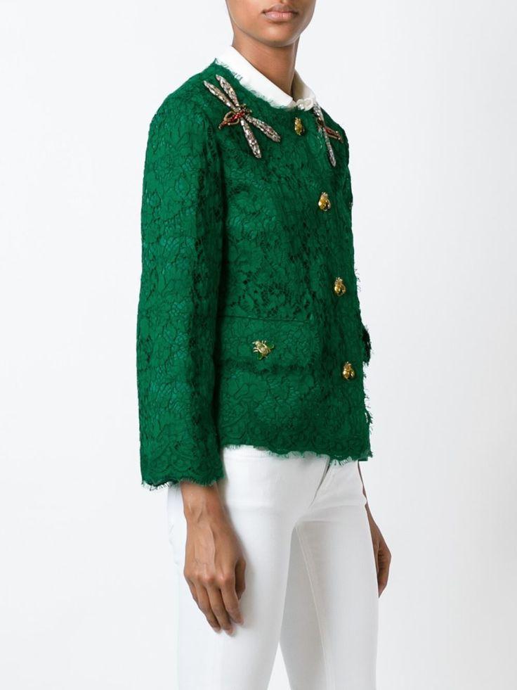 Dolce & Gabbana Jaqueta Com Renda - Farfetch