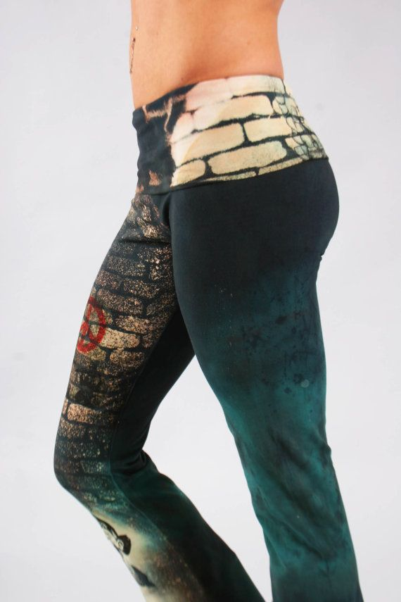 Girl Army Yoga Pant by COUTURETEEdotCOM on Etsy, $44.00