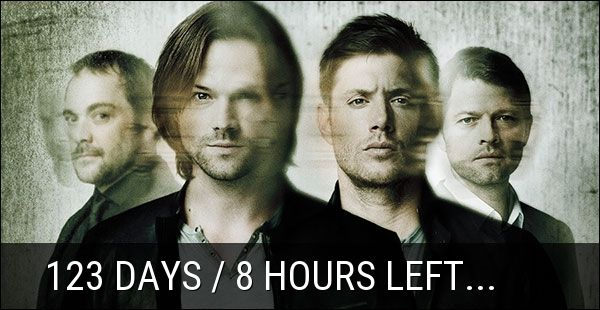 123 Days / 8 Hours / 22 Minutes left until #Supernatural - Season 12 Premiere