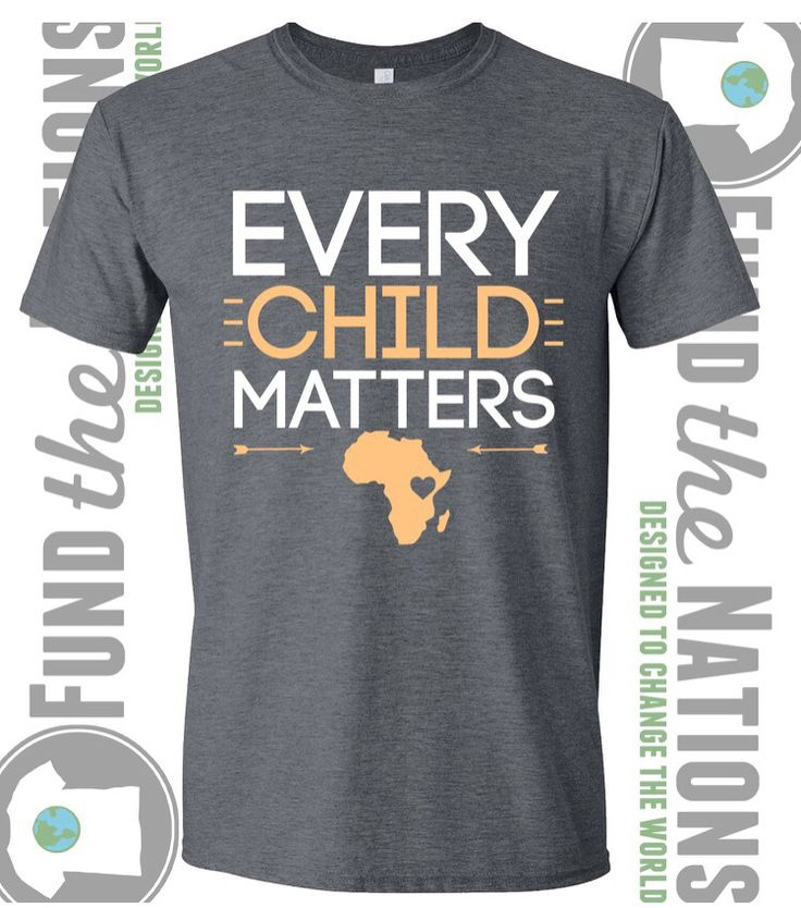 Every child matter Tshirts- raising money for an orphanage in Kenya Hi everybody!! So my cousin Kristina and I are going to an orphanage/school in Kenya this summer for about 7 weeks https://www.etsy.com/listing/225777462/every-child-matters-tshirt-fundraising