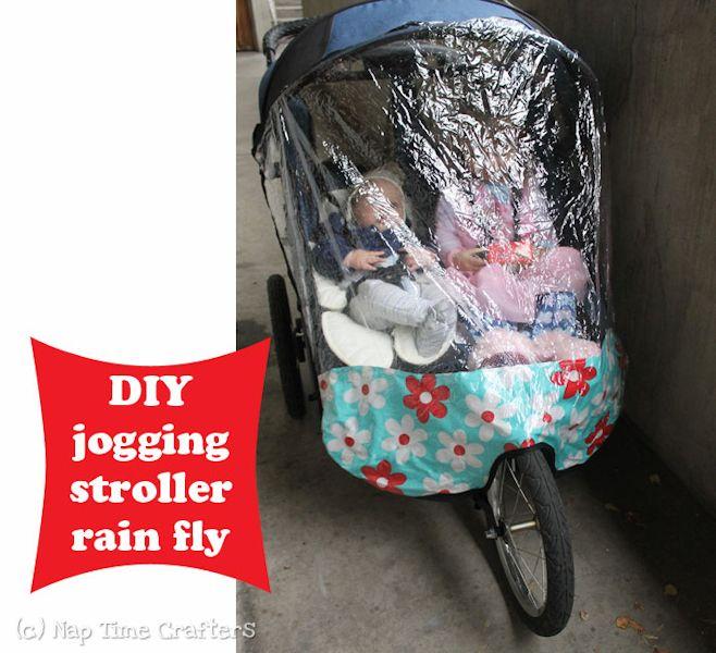 Jogging Stroller Rain Fly Tutorial - Peek-a-Boo Pattern Shop