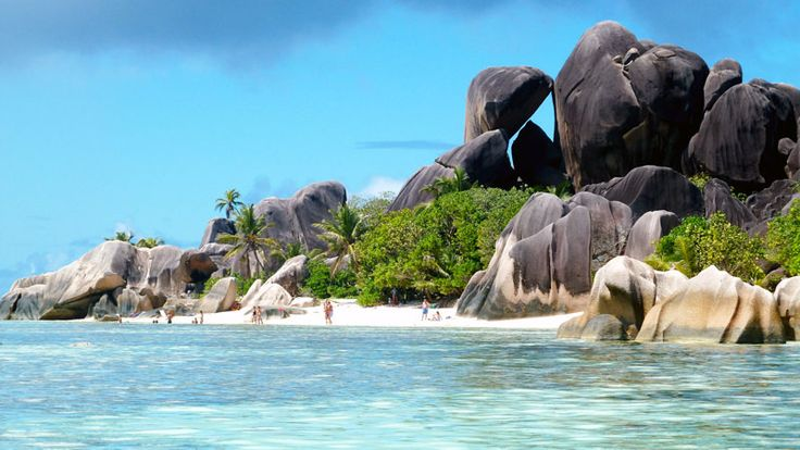 Another #postcard from Anse Source d'Argent