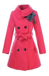 Pink Peacoat Perfection