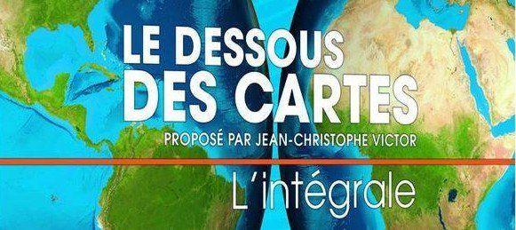 """#Géographie """"L'intégrale Dessous des cartes"""" de Jean-Christophe Victor, 220 émissions 16 DVD http://ow.ly/UOiCt"""