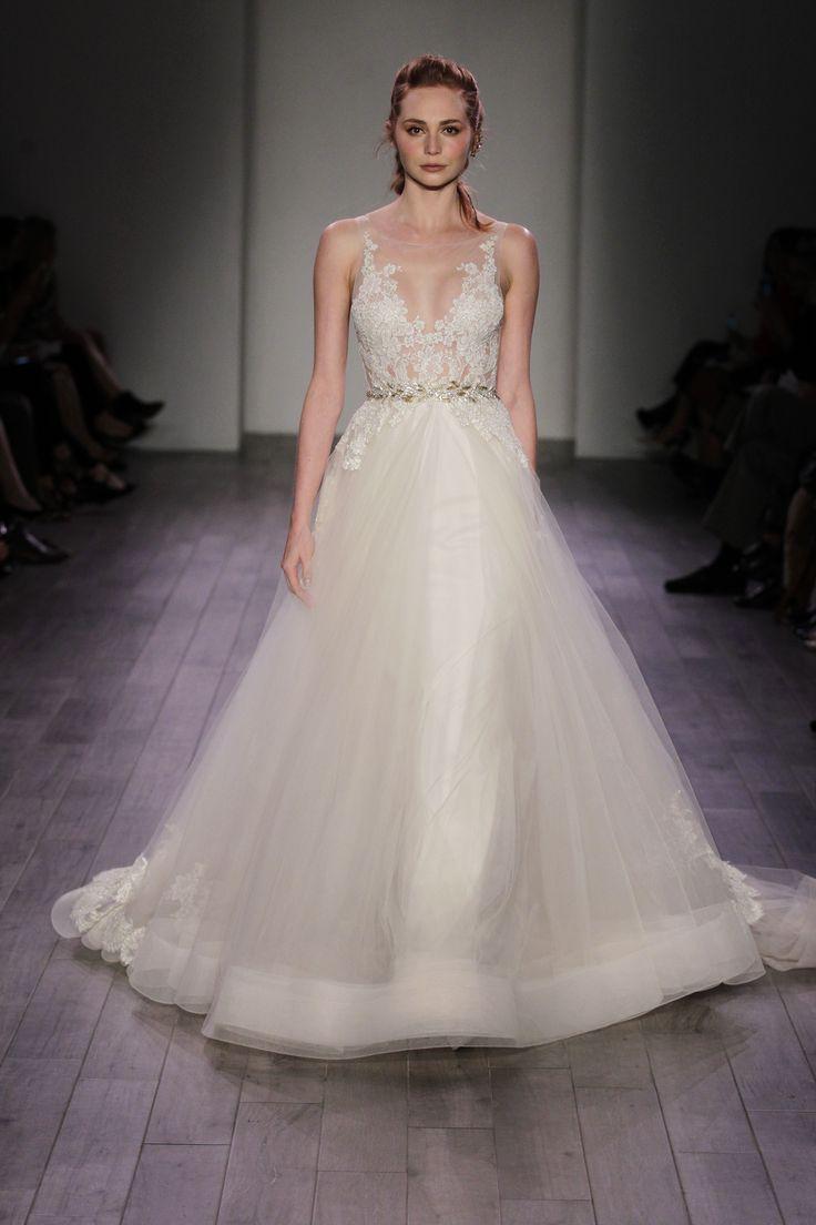 98 best Lazaro images on Pinterest | Short wedding gowns, Wedding ...