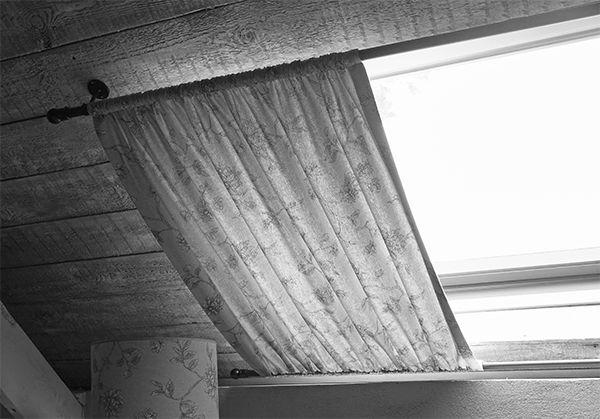 r sultat de recherche d 39 images pour rideau velux fait. Black Bedroom Furniture Sets. Home Design Ideas